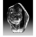 Mats Jonasson Maleras Swedish Crystal Tiger
