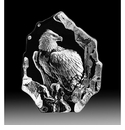 Mats Jonasson Maleras Swedish Crystal Bald Eagle