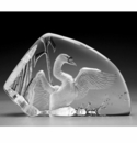 Mats Jonasson Maleras Swedish Crystal Swan