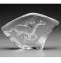 Mats Jonasson Maleras Swedish Crystal Horse