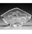 Mats Jonasson Maleras Swedish Crystal Horses