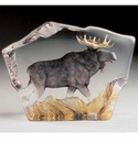 Mats Jonasson Maleras Swedish Crystal Safari Moose