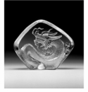 Mats Jonasson Maleras Swedish Crystal Dragon, Small