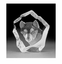 Mats Jonasson Maleras Swedish Crystal Husky