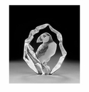 Mats Jonasson Maleras Swedish Crystal Puffin