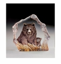 Mats Jonasson Maleras Swedish Crystal Safari Brown Bear