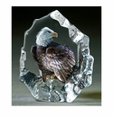Mats Jonasson Maleras Swedish Crystal Safari Bald Eagle