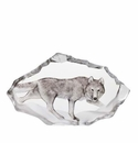 Mats Jonasson Maleras Swedish Crystal Wolf, Limited Edition