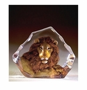 Mats Jonasson Maleras Swedish Crystal Safari Lion