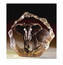 Mats Jonasson Maleras Swedish Crystal Safari Elephant