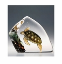 Mats Jonasson Maleras Swedish Crystal Safari Sea Turtle