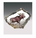 Mats Jonasson Maleras Swedish Crystal Mini Moose