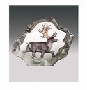 Mats Jonasson Maleras Swedish Crystal Mini Reindeer