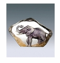 Mats Jonasson Maleras Swedish Crystal Mini Elephant