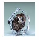 Mats Jonasson Maleras Swedish Crystal Mini Owl