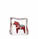Mats Jonasson Maleras Swedish Crystal Red Dalecarlia Horse, Small