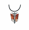 Mats Jonasson Maleras Swedish Crystal Mefisto Necklace, Limited Edition