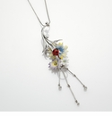 Franz Collection Ladybug Design Necklace