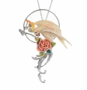 "Franz ""Amazon Rain Forest Parrot"" Pendant/Brooch"