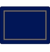Pimpernel Classic Midnight Blue Placemats Set of 4