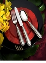 Ricci Flatware Botticelli 2-Piece Cake Set - Server & Knife