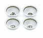 "Portmeirion Botanic Garden 4.25"" Mini Round Bowls (Assorted Set of 4)"