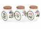 "Portmeirion Botanic Garden 4"" Spice Jars (Set of 3)"