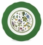Portmeirion Botanic Garden Charger Plate with Green Border