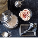 Match Pewter Bath and Vanity Accessories