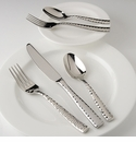 Fortessa Lucca Faceted Flatware