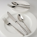 Fortessa Flatware Lucca Faceted 5 Piece Placesetting