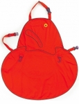 Orka Kitchen Apron Size Medium - Red