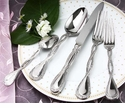 Ricci Flatware Regale Polished 45 Pc. Service for 8