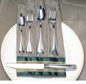Ricci Flatware Angela 45 Pc. Service for 8