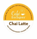 Keurig K-Cups Caf� Escapes Chai Latte