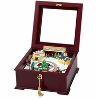Mr. Christmas Gold Label Collection Traditional Music Boxes
