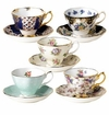 Royal Albert Set of 5 Asst Teacup & Saucer Sets 1900-1940