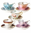 Royal Albert Set of 5 Asst Teacup & Saucer Sets 1950-1990