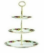 Royal Albert Old Country Roses Three Tiered Cake Stand