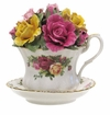 Royal Albert Old Country Roses Musical Teacup 4""