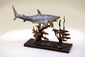 Shark with Prey Sculpture by SPI Home