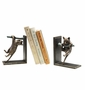 Climbing Cat and Branch Bookends by SPI Home
