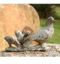Quail Family Garden Sculpture by SPI Home