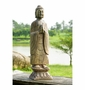 Meditating Garden Buddha Sculpture by SPI Home