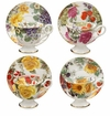 Autumn Floral Chintz Tea Cup & Saucers (Assorted Set of 4)