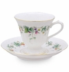 Berry Yard Porcelain Tea Cup & Saucer Set