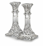 "Waterford Crystal Lismore 8"" Candlestick Pair"