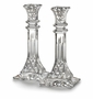 "Waterford Crystal Lismore 10"" Candlestick Pair"