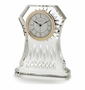 "Waterford Crystal Lismore Clock 6 1/2"" H"