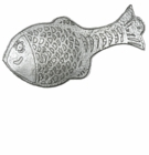 Crosby & Taylor (Tin Woodsman) Large Fish Spoon Rest
